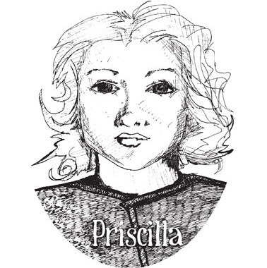 Priscilla Illustration